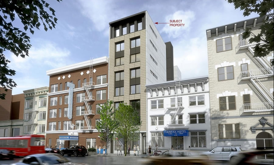Approved Development in the Tenderloin